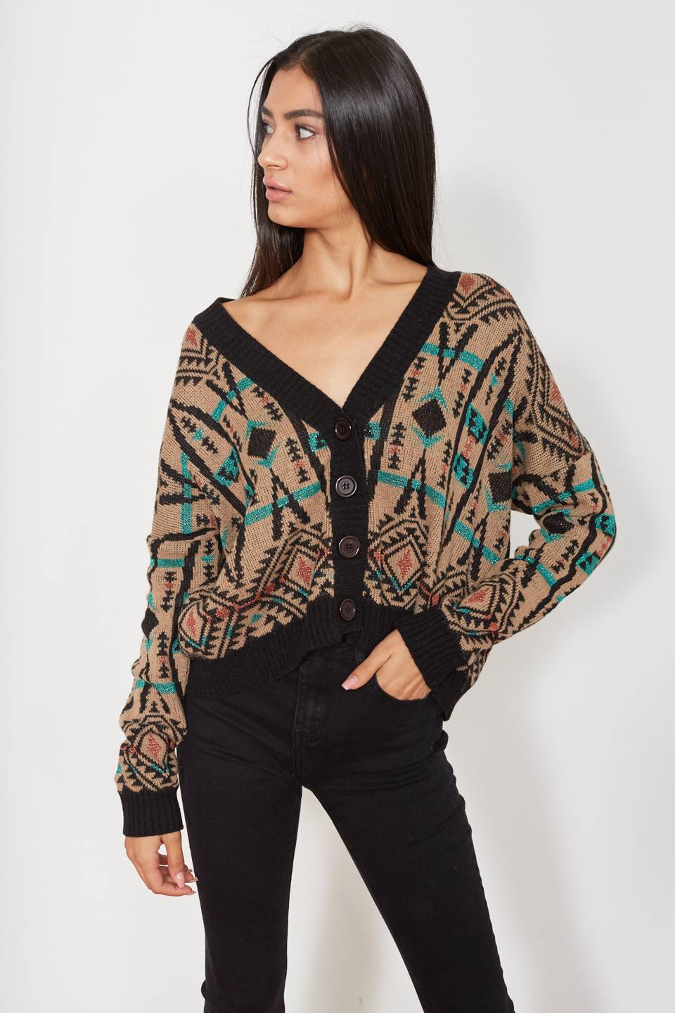 Cardigan over nero - Autunno 2019 - Inverno 2020 | Brend